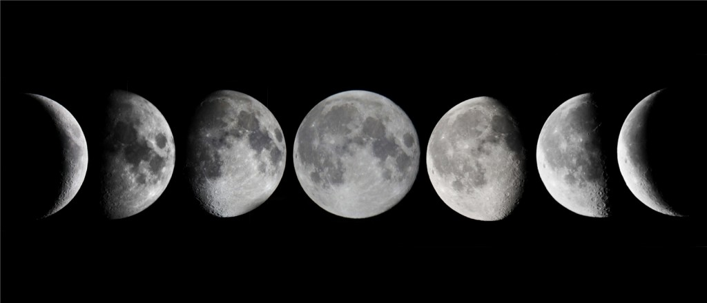 JCCC Astronomy » Experiment Two – Lunar Phases