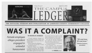 """Was it a Complaint?"" - Original story breaking the news of Dr. Carlsen's alleged harassment. Written by Miguel M. Morales."