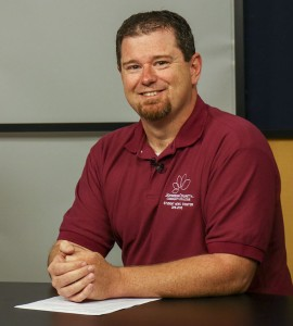 Shawn Simpson, Staff Reporter. Photo by Lance Martin.