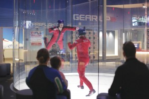 iFly currently offers Kansas City's only indoor skydiving opportunity. The Overland Park location opened in January 2016. Photo by Brent Burford.
