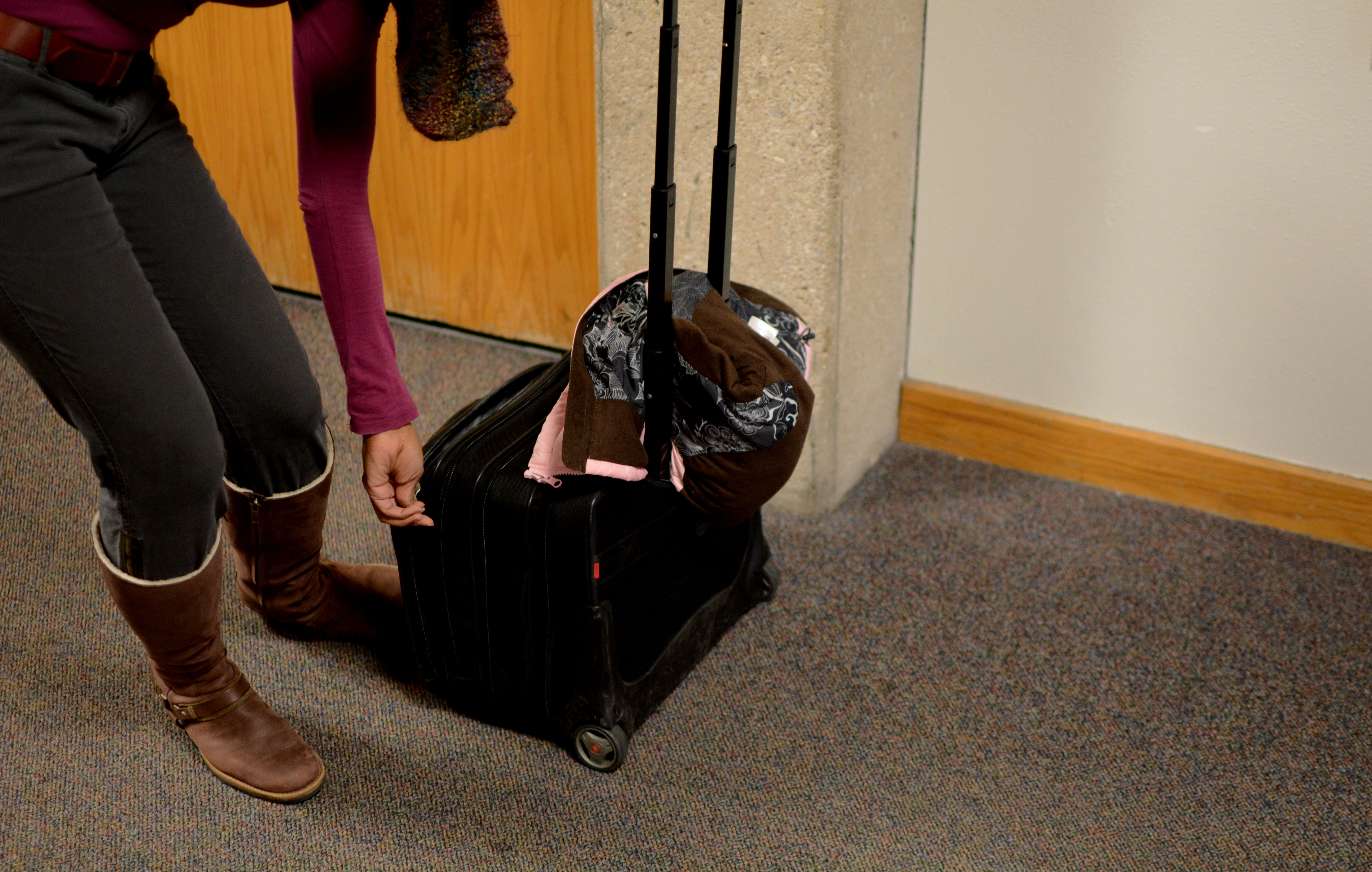 The wheel deal with rolling backpacks and student opinion   The ...