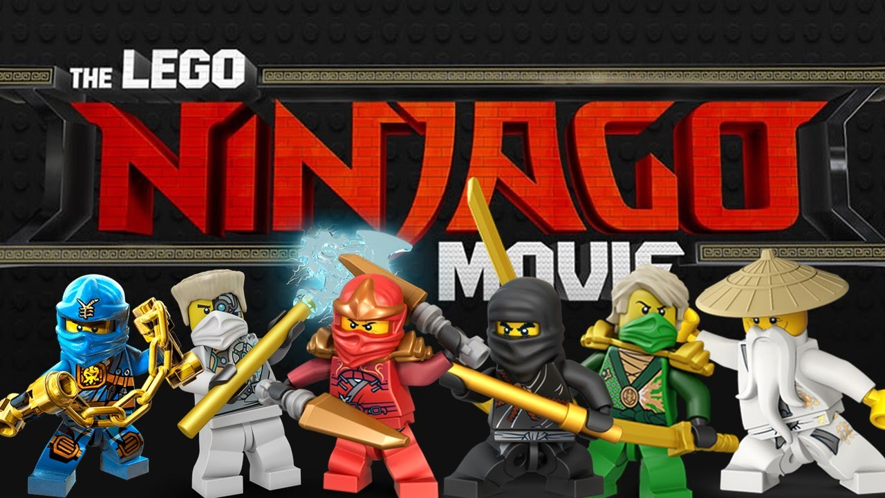 Movie review the lego ninjago movie not the best brick - Lego ninjago logo ...