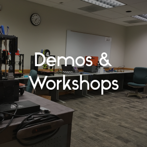 Link to demos and workshops