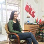 Beth Gulley enjoys Christmas in China