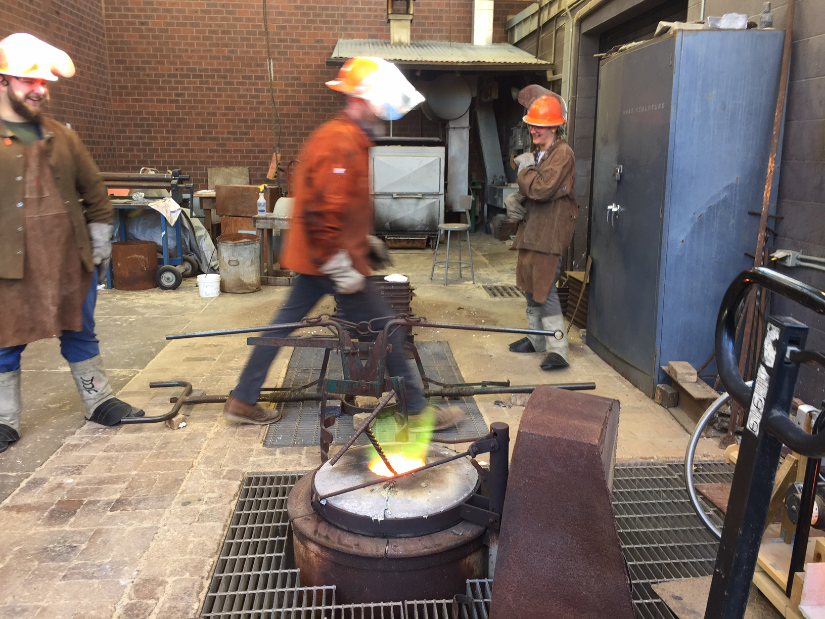 Preparations for BRONZE Casting