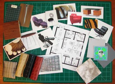Visual Presentation For Interior Designers I Show The Step By Construction Process Of An Design Color Board Project Is Whimsical