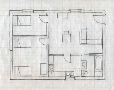 Step By Instructions For Sketching Drafting Floor Plans And Interior Elevations