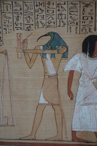 Thoth (papyrus detail), British Museum, London, England