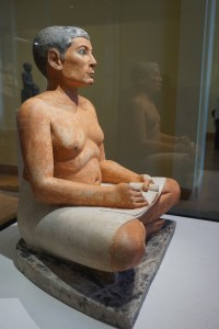 """Seated Scribe,"" Louvre, Paris, France"