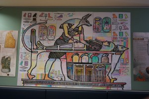 (Modern) Egyptian Art at the Egypt Centre, Swansea, Wales