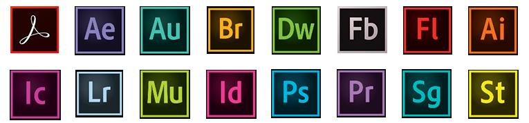 adobe creative icons