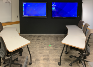 Ed Tech Studio classroom set-up