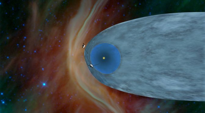 Voyager II Is Outta Here!